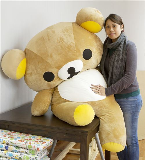 Veronica with the sleepy office Rilakkuma